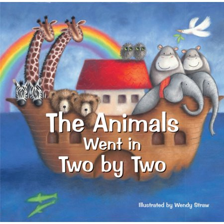 Animal Nursery Themes - The Animals Went in Two by Two: 20 Favourite Nursery Rhymes (Paperback)