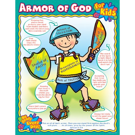 ARMOR OF GOD FOR KIDS CHART - Weather Chart For Kids