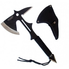 "15"" Full Tang Survival Tomahawk Throwing Axe Hatchet Knife Hunting Camping Hawk by"