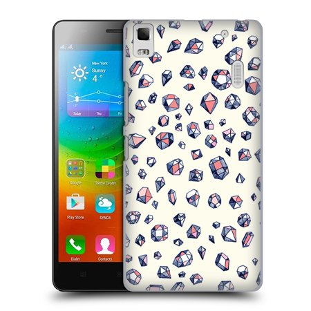 OFFICIAL MICKLYN LE FEUVRE PATTERNS HARD BACK CASE FOR LENOVO PHONES