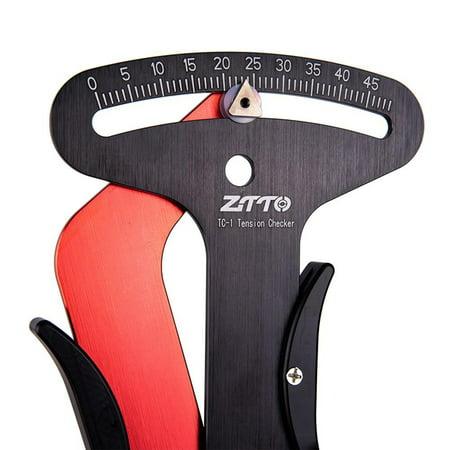 Bike Indicator Meter Tensiometer Bicycle Spoke Tension Wheel Builders Tool Bicycle Spoke Repair Tool Elikliv Bicycle Spokes Tension Meter Calibration Tool