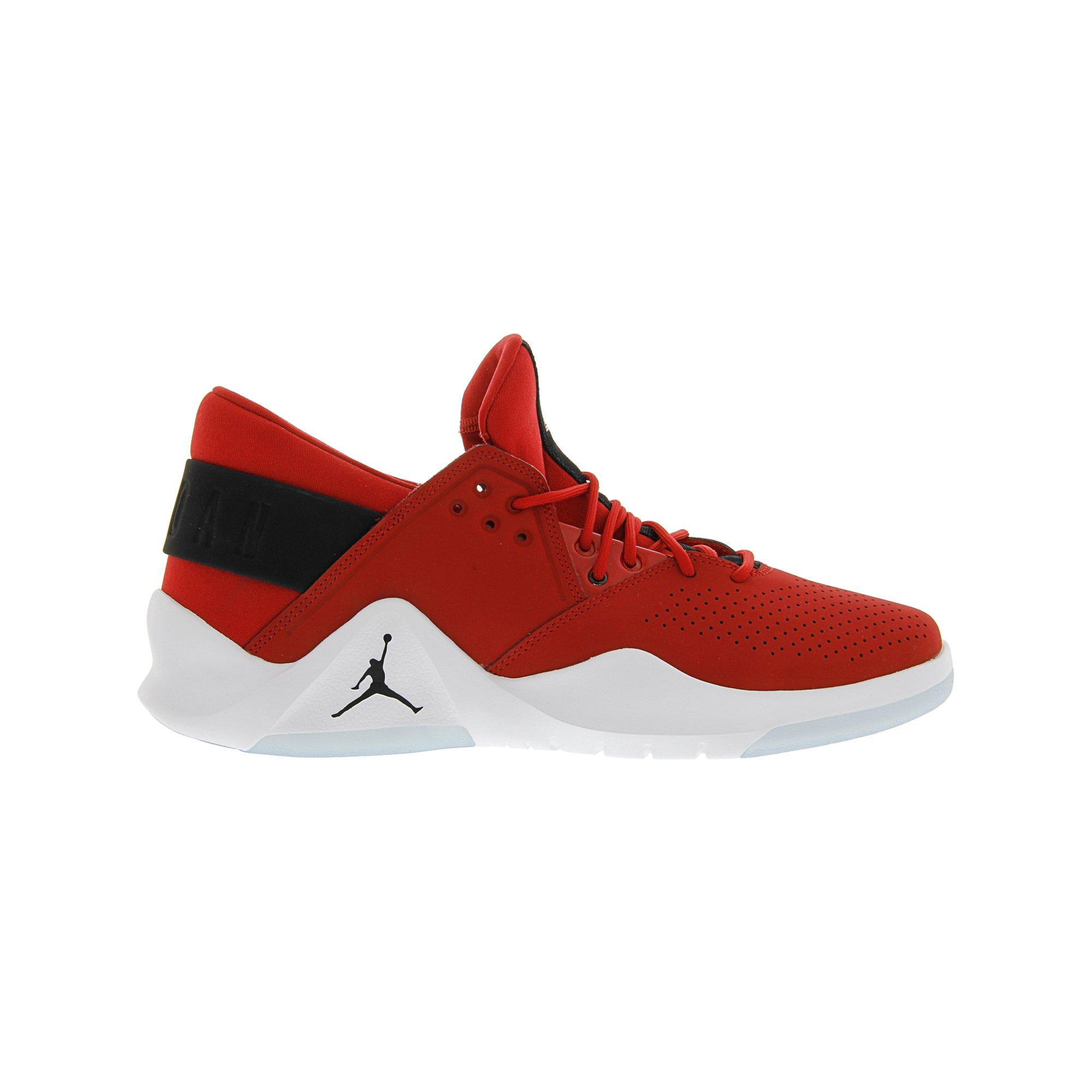 0c06724b52aba9 Nike Men s Jordan Flight Fresh Gym Red   Black - White Mid-Top Leather Basketball  Shoe 11M