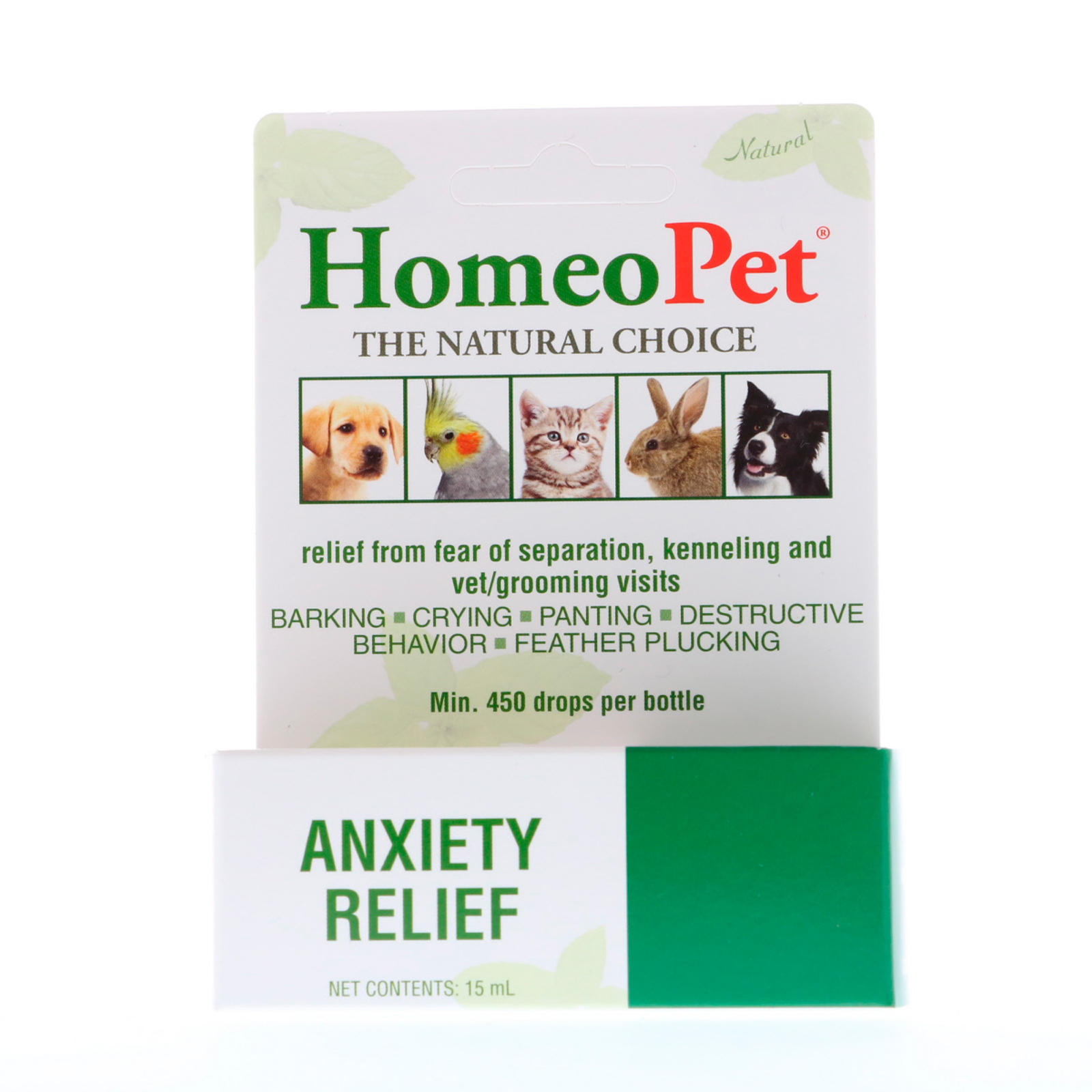 HomeoPet Anxiety Relief 15 ml - Walmart.com - Walmart.com