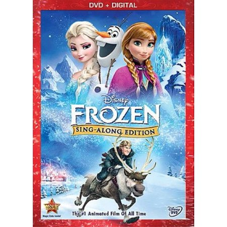 Frozen Sing Along Edition (DVD)](cheapest price for frozen dvd)
