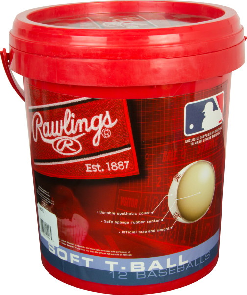 Rawlings 1 Gallon TVB Baseball and Bucket Combo by Rawlings