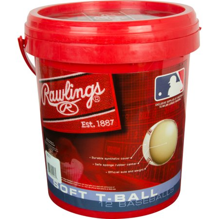 Add Baseball - Rawlings 1 Gallon TVB Baseball and Bucket Combo