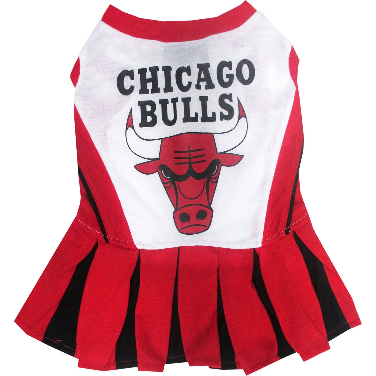Chicago Bulls Dog Cheerleader Outfit