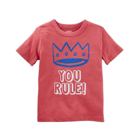 OshKosh B'gosh Baby Boys' Originals Graphic Tee, You Rule Tee