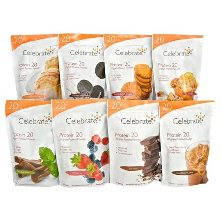 Celebrate Protein Shake 20   Available In 8 Flavors