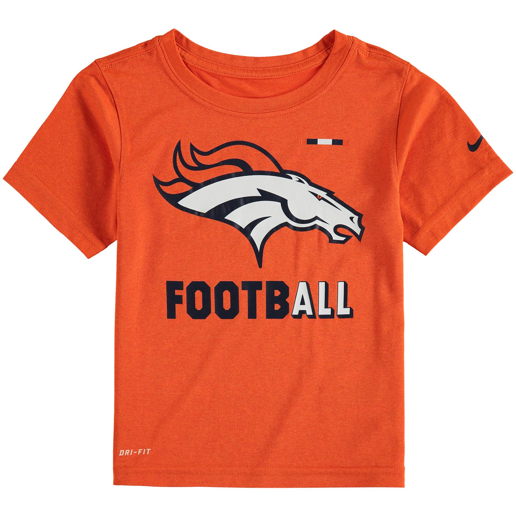 Denver Broncos Nike Toddler Legend Football Performance T-Shirt - Orange