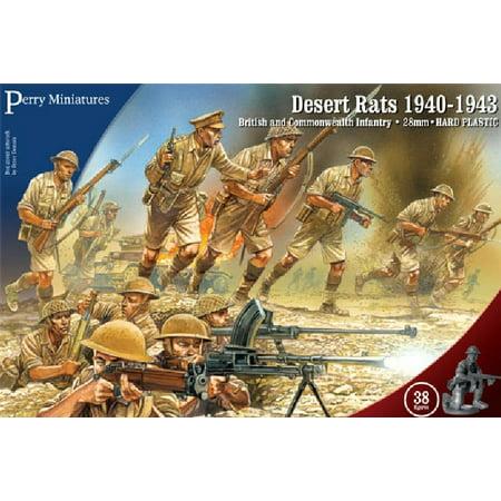 28mm British & Commonwealth Infantry Desert Rats 1940-1943 (British Desert Rat)