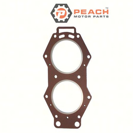 Peach Motor Parts PM-6E5-11181-A2-00  PM-6E5-11181-A2-00 Gasket, Cylinder Head; Replaces Yamaha®: 6E5-11181-A2-00, 6E5-11181-A1-00, 6E5-11181-A0-00, 6E5-11181-02-00, 6E5-11181-01-00, Sierra®: 18-3832,