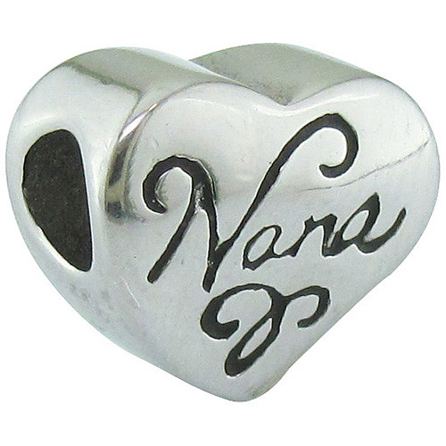 Connections from Hallmark Stainless-Steel Nana Charm