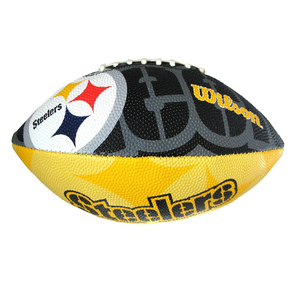 Wilson Sporting Goods Wilson Junior Logo Football NFL Pittsburgh Steelers by Wilson Sporting Goods Co.
