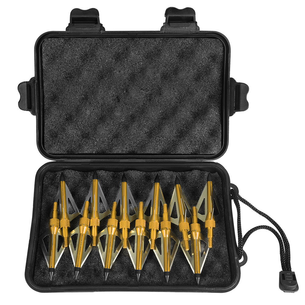 3-blade 100Gr Hunting Arrow Tip Broadheads For Hunting Archery Compound T5