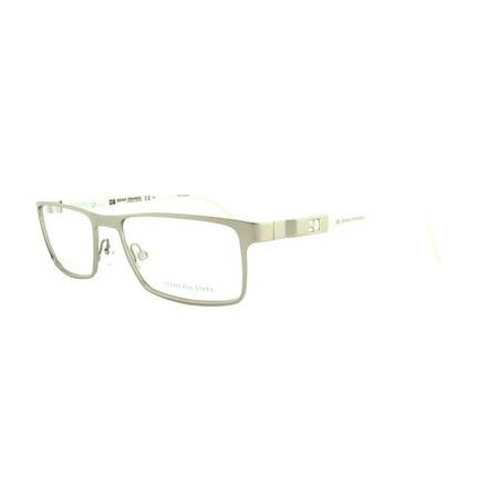 BOSS ORANGE Eyeglasses 0116 09XW Matte Ruthenium Gray