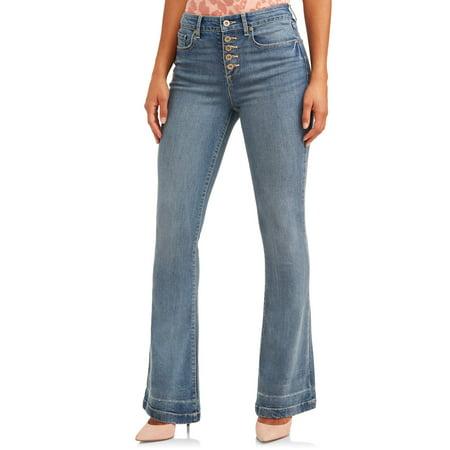 Sofia Jeans Melisa Flare Release Hem High Waist Stretch Jean Women's 16 Flare Leg Jean