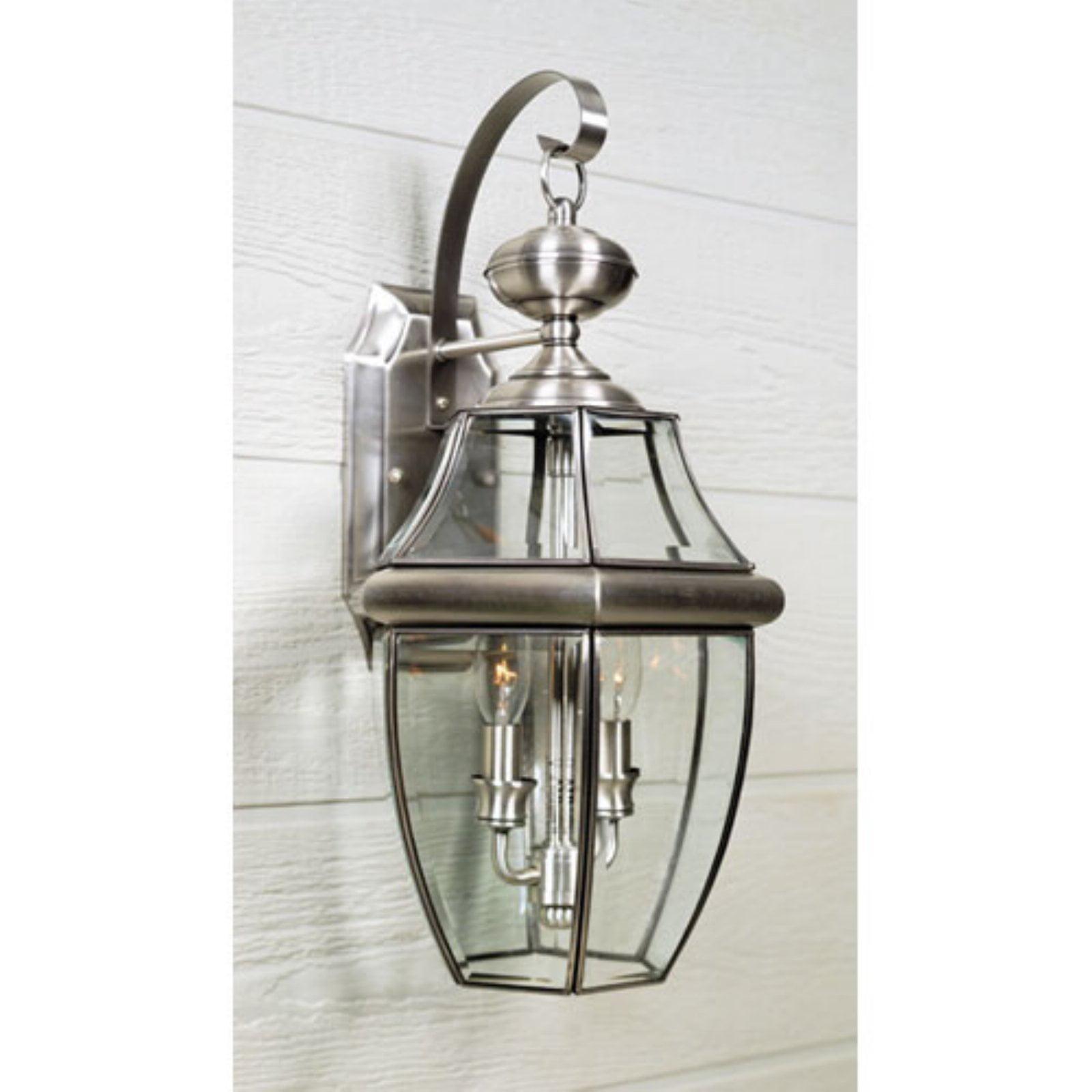 Quoizel Newbury NY8317P Outdoor Wall Lantern