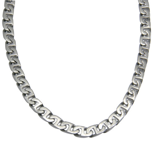 Stainless Steel Flat Mariner Chain, 24""