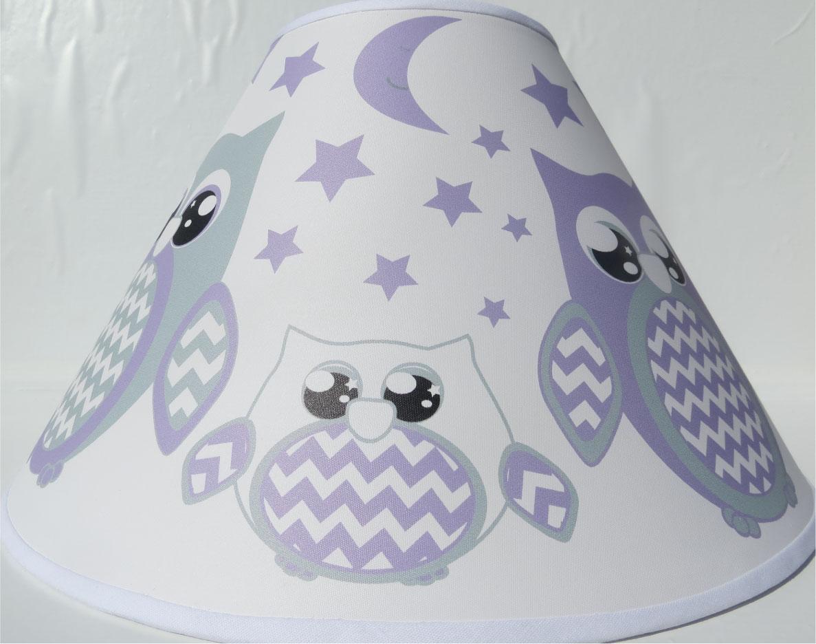 Purple Owl Lamp Shade Children S