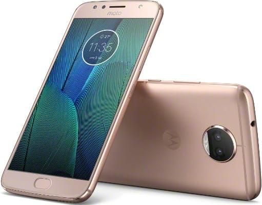 Motorola Moto G5S Plus 32GB Unlocked Smartphone, Blush Gold by MOTOROLA