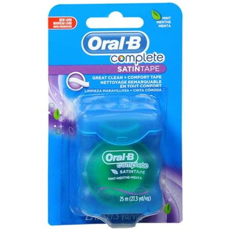 4 Pack - Oral-B SATINtape Fresh Mint 27 Yards (Oral B Satin Tape)