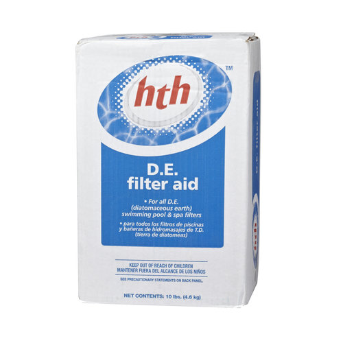 HTH D.E. Filter Aid, 25 lb