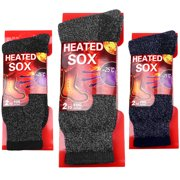 Falari 3-Pack Men's Winter Thermal Socks Heated Sox Ultra Warm Best for Out Door Activities