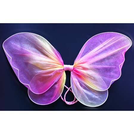 Kids Neon Sheer Fairy Butterfly -