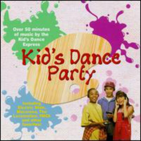 Kid's Dance Express:Kid's Dance Party - Music For A Halloween Dance Party