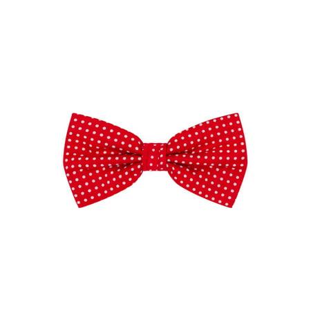 Jacob Alexander Polka Dot Print Men's Polka Dotted Pretied Bowtie Bow Tie Jumbo Polka Dot