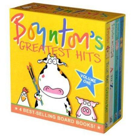 Boyntons Greatest Hits  Mo  Baa  La La La  A To Z Doggies Bluehat  Green Hat
