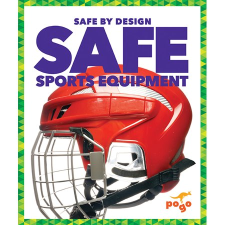 Safe Sports Equipment In this book, early fluent readers discover the different equipment used to keep athletes safe and the new technology that helps prevent injuries. They will also learning about how engineers design sports equipment. Vibrant, full-color photos and carefully leveled text will engage young readers as they learn more abou tthese engineering feats.