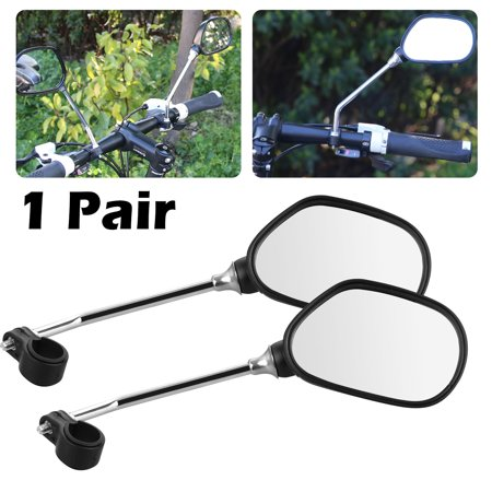 EEEkit 1 Pair 360° Rotation Mountain Road Bike Bicycle Cycling Rear View Mirror, Fit for 22mm -
