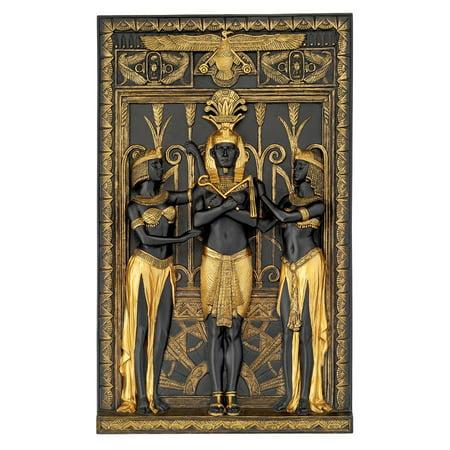 The Egyptian Pharaoh and His Maidens Wall - Egyptian Pharo