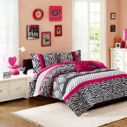 Home Essence Teen Leona Printed Duvet Cover Bedding Set