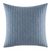 Izi Quilted Pillow Sham, Euro, Blue