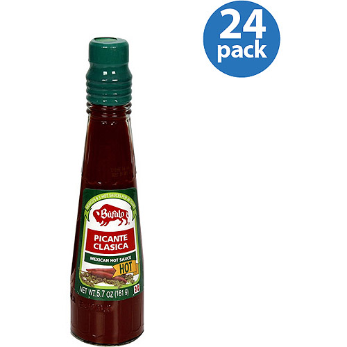 Bufalo Picante Classica Hot Mexican Hot Sauce, 5.7 oz, (Pack of 24)