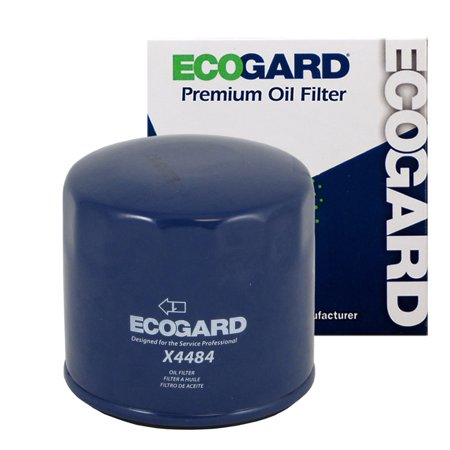 ECOGARD X4484 Spin-On Engine Oil Filter for Conventional Oil - Premium Replacement Fits Acura Legend, TL, NSX / Sterling 827