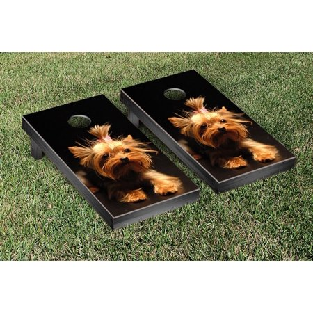 Yorkshire Terrier Dog Themed Cornhole Game Set