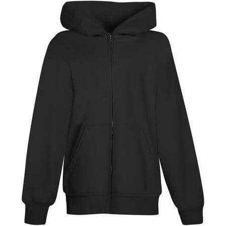 Hanes EcoSmart Fleece Full Zip Hooded Jacket (Little Boys & Big Boys)