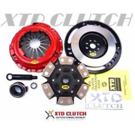 XTD STAGE 3 CERAMIC CLUTCH & FLYWHEEL KIT 94-01 INTEGRA CIVIC Si DEL SOL -