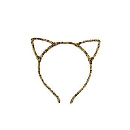 Womens Full Fur Meow Cute Kitty Cat Ear Head Band HC6688-Leopard](Kitty Headband)