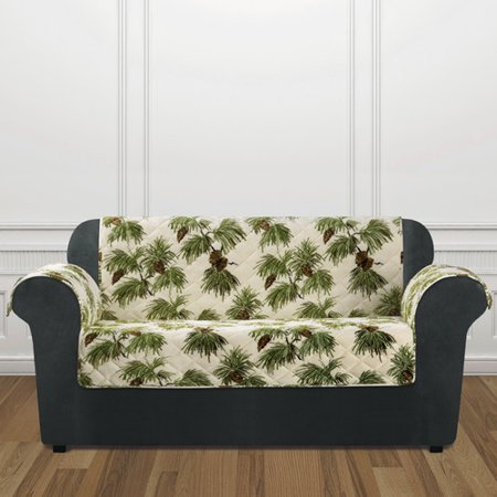 Sure Fit Holiday Furniture Loveseat Slip Cover ()