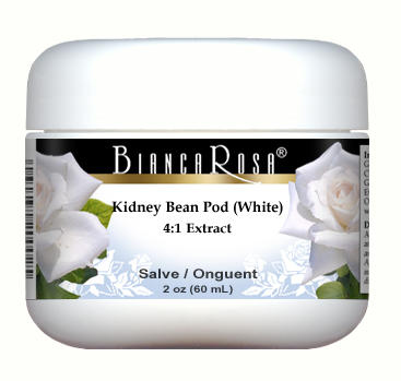 Extra Strength Kidney Bean Pod (White) 4:1 Extract - Salve Ointment (2 oz, ZIN: 514208)