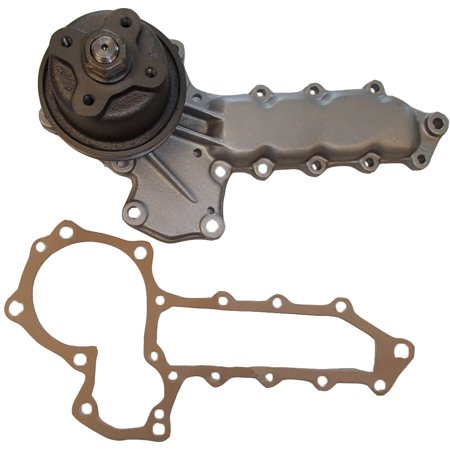 15341-73030 New 4 Bolt Hub Water Pump & Gasket For Kubota Compact Tractor...