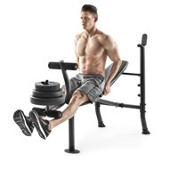 Deals on Weider XR 6.1 Adjustable Bench w/100lb Weight Set and Leg Developer