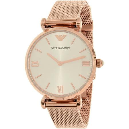 Emporio Armani - Emporio Armani Women s Retro AR1956 Rose Gold  Stainless-Steel Quartz Watch - Walmart.com b3158e90c033