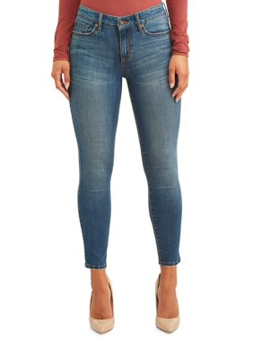 Sofia Jeans Sofia Skinny Chewed Hem Mid Rise Stretch Ankle Jean Women's (Medium)
