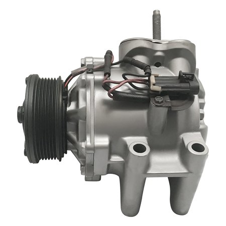 RYC Remanufactured AC Compressor and A/C Clutch GG561 Fits 2002, 2003, 2004, 2005, 2006, 2007, 2008, 2009 Chevrolet Trailblazer (A/c Compressor Mounting Bracket)